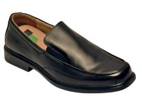 Benelaccio Boys Loafers with Buckle, Boys Slip On Shoes, Black Loafers for Boys
