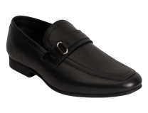 Benelaccio Boys Black Formal Shoes, Black Loafers for Boys (415)