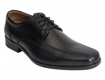 Wizfort Black Oxford Dress Shoes for Men