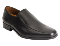 Wizfort Black Slip On Shoes, Dress Loafers for Men